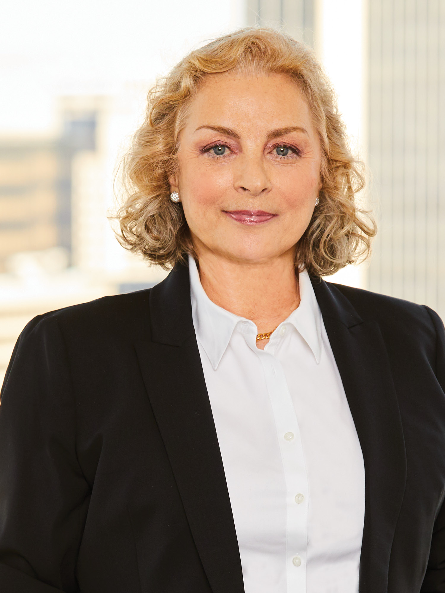 Adriana Cutolo-Beyer, a top realtor in New York City for Corcoran, a real estate firm in Brooklyn Heights.