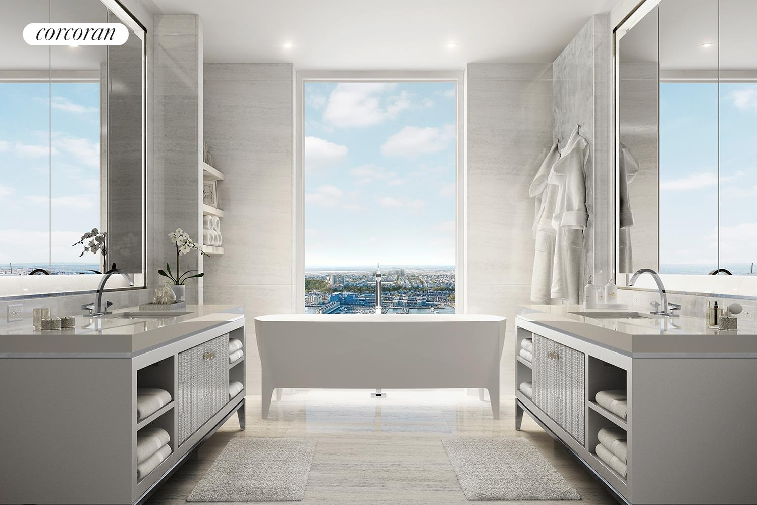 35 HUDSON YARDS, 8302, Private north west terrace