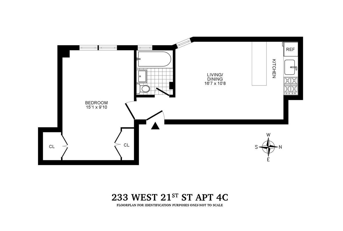 233 West 21st Street, Chelsea, New York