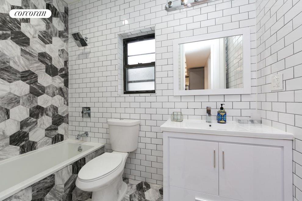 Windowed large bathrooms
