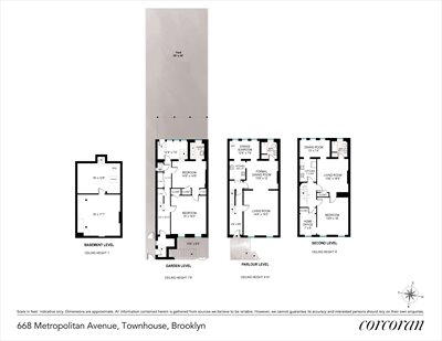 New York City Real Estate | View 668 Metropolitan Avenue | Floorplan