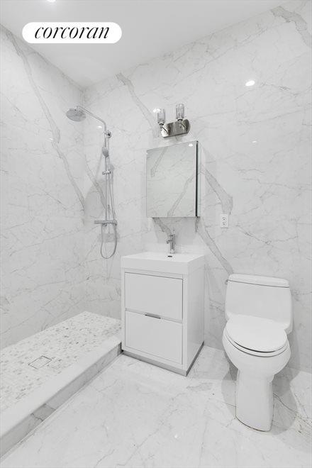 Radiant Heated Bathroom