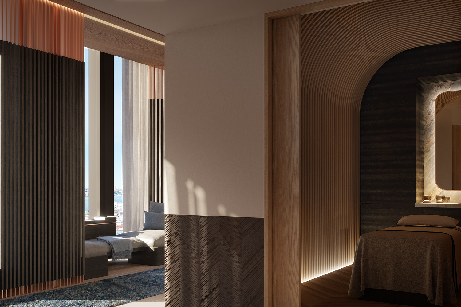 35 HUDSON YARDS, 5305, Master Bedroom Suite