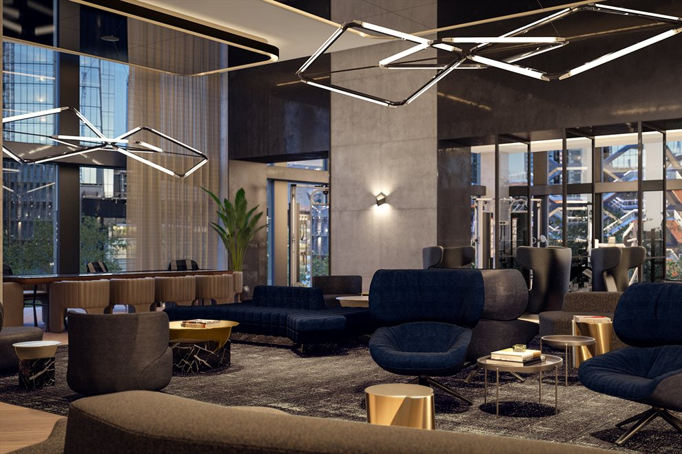 Equinox flagship club at Hudson Yards