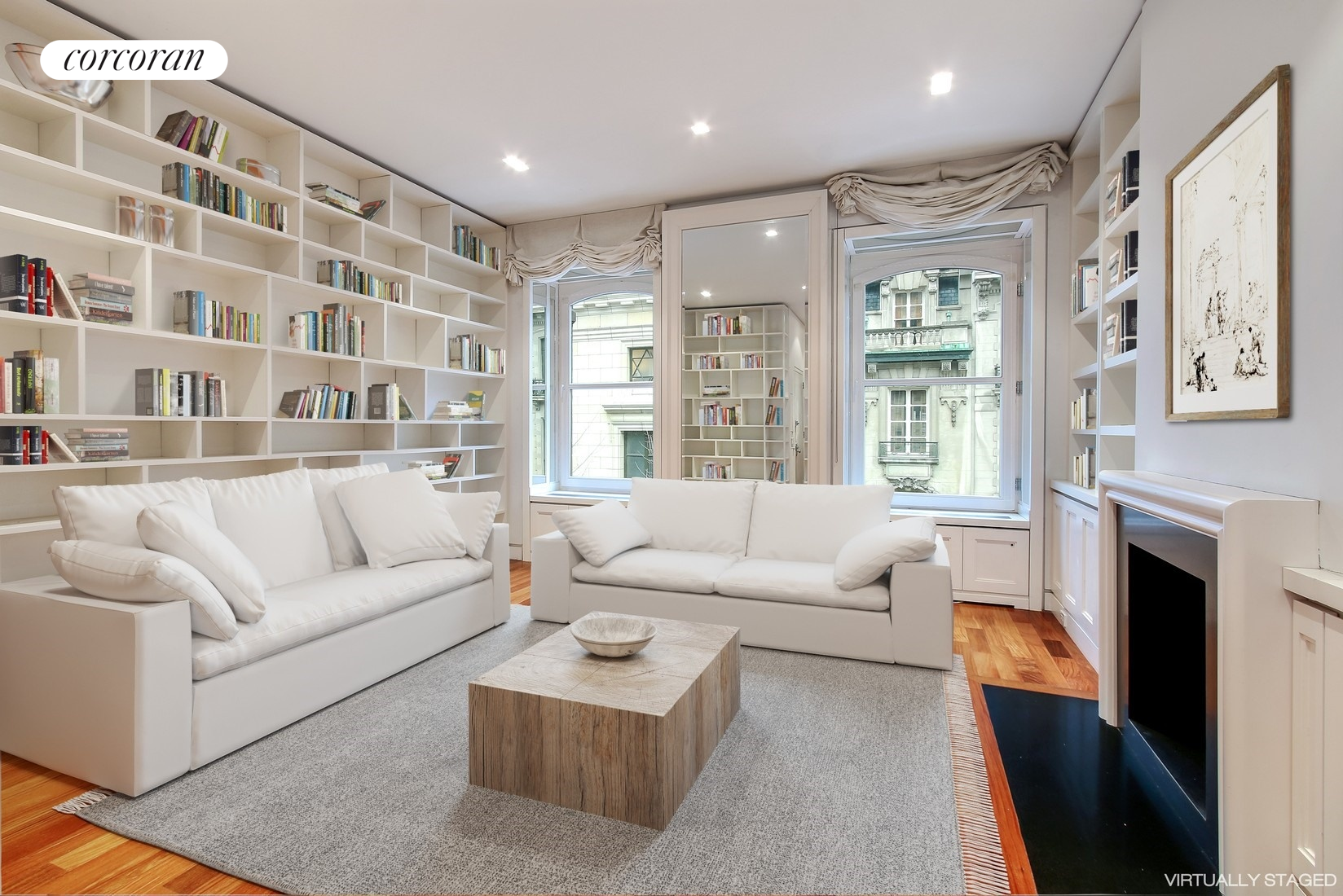 16 East 63rd Street, 4th Floor, Living Room