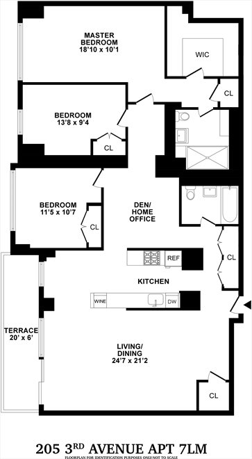 New York City Real Estate | View Third Avenue | Floorplan