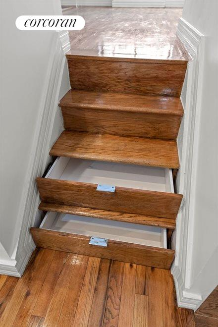 Storage Drawers on Stairs