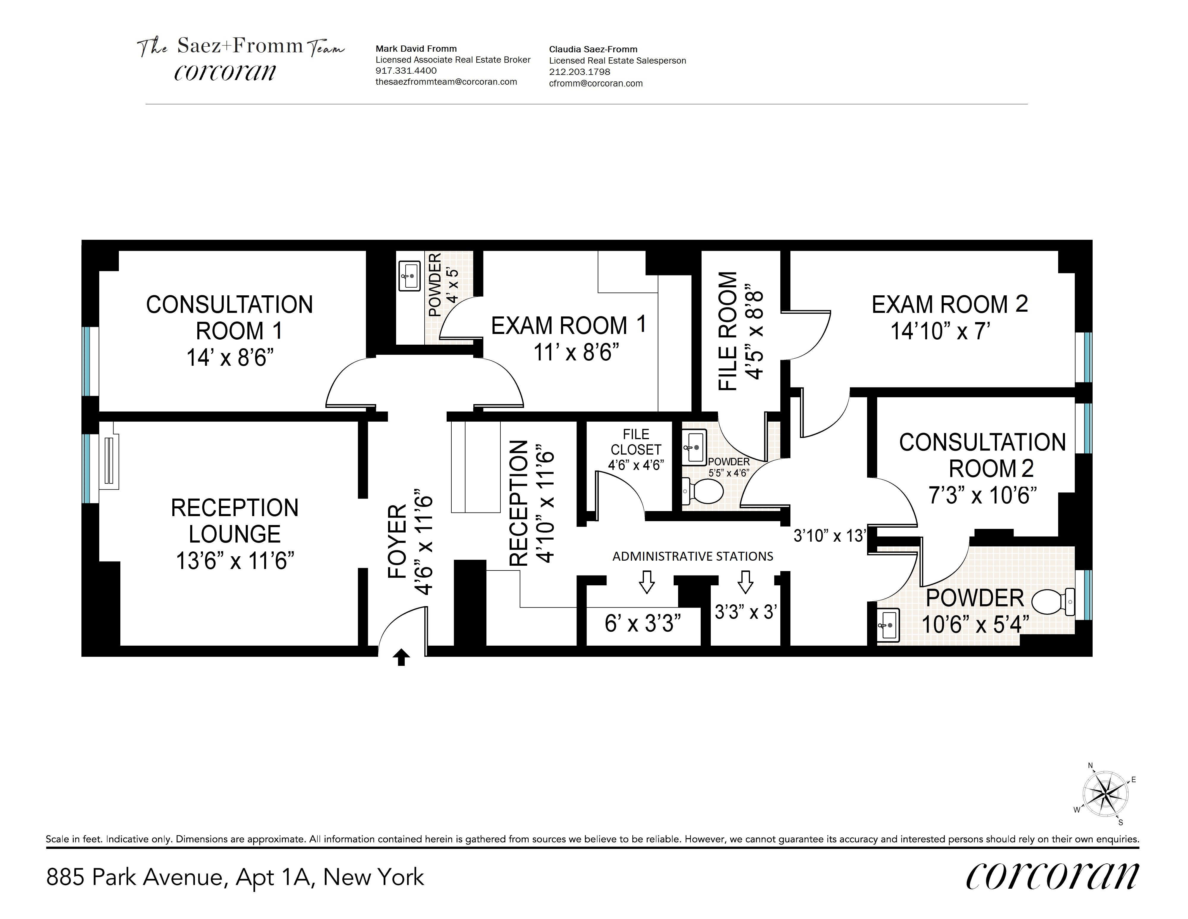 885 Park Avenue Upper East Side New York NY 10075