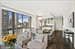 111 West 67th Street, 20LM, Living - Dining - Kitchen