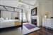 Southampton, Master bedroom with fireplace