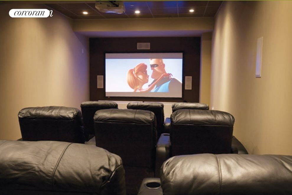 9 seater screening room