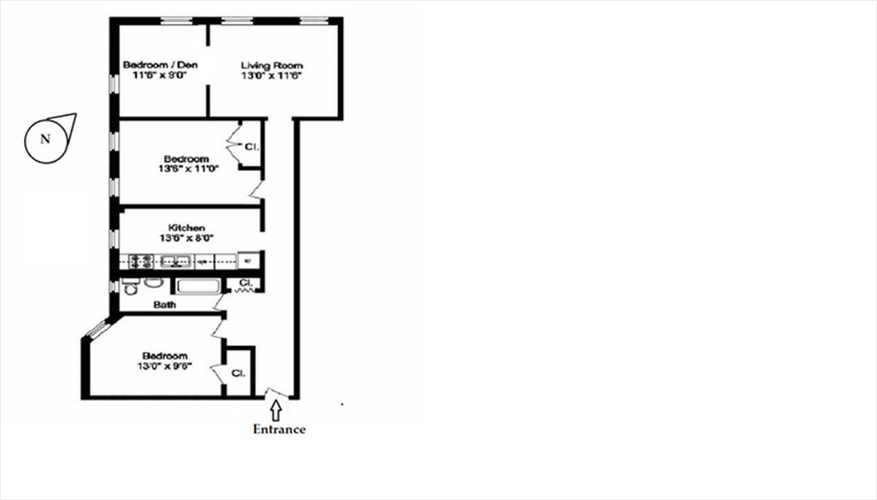 New York City Real Estate | View West 179th Street | Floorplan
