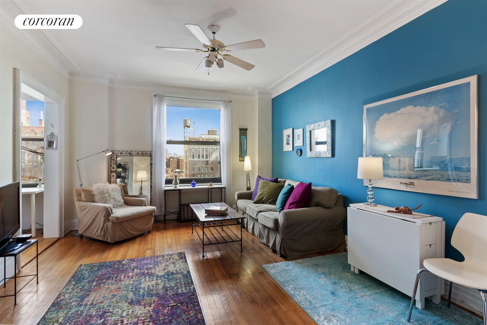 230 West 105th Street, 12C, Living Room