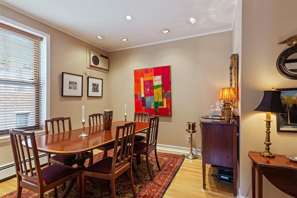 Charming windowed Dining Room
