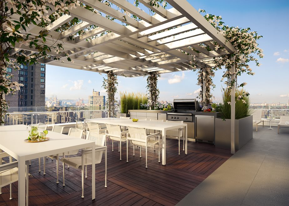 Rooftop Terrace with Barbeque for Al Fresco Dining