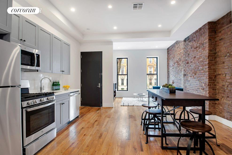 Floor Through Living and Dining Space