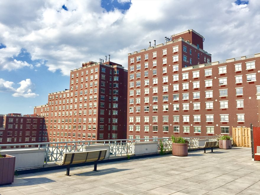 The Opal Apartment Building | View 75-25 153rd Street | South Tower Terrace