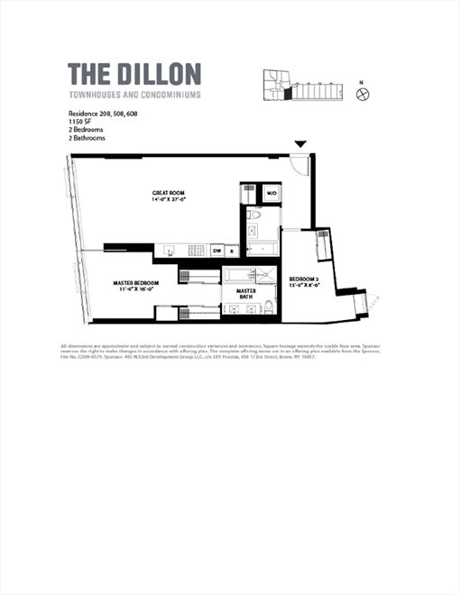 New York City Real Estate | View West 53rd Street | Floorplan
