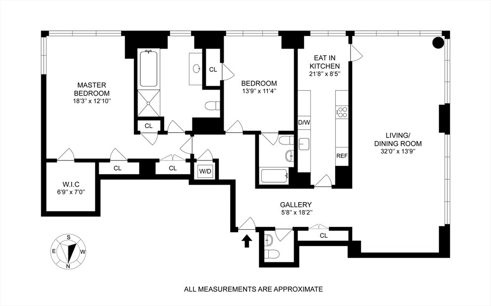 New York City Real Estate | View East 57th Street | Floorplan