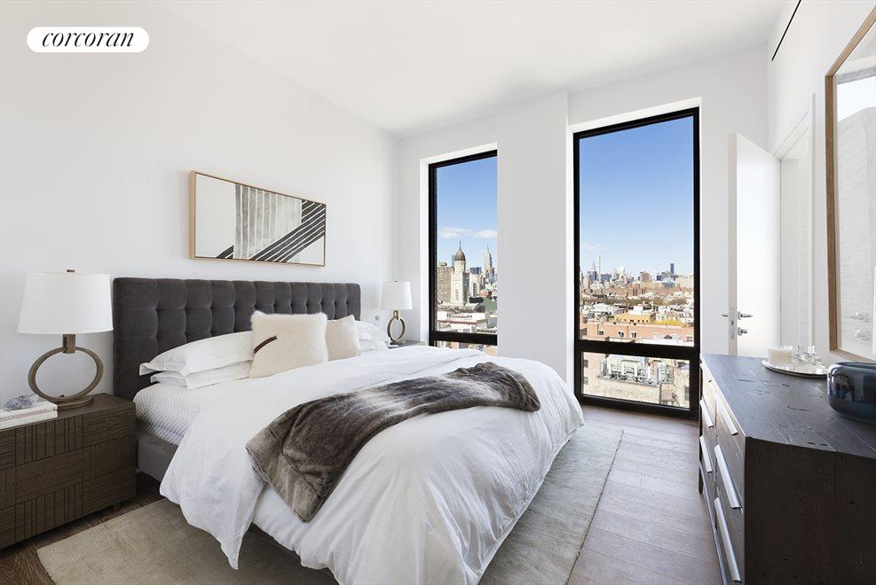 Master Bedroom with amazing Northern views!