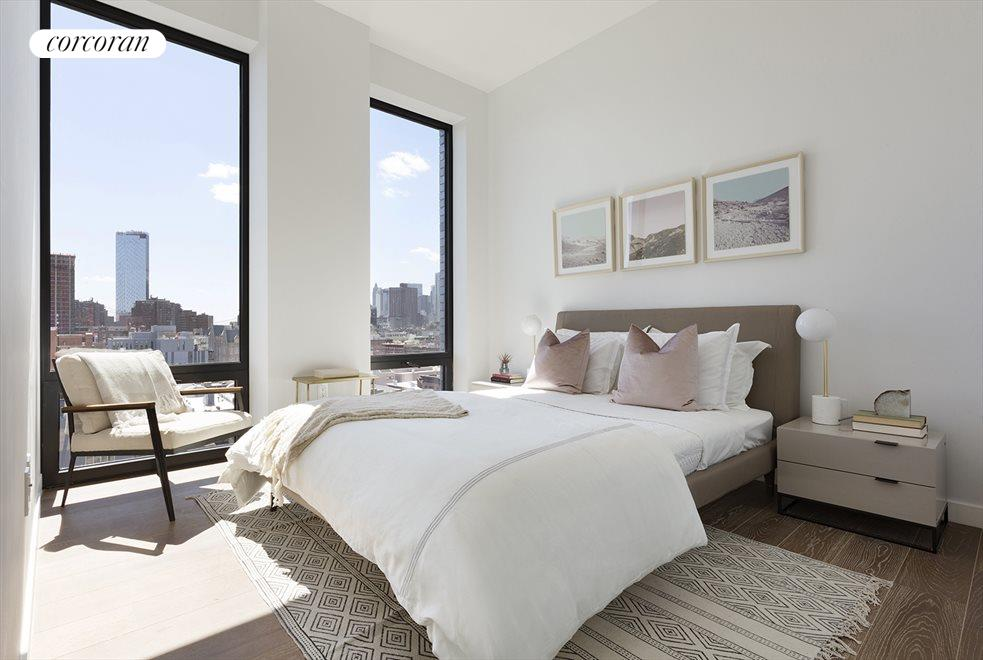2nd bedroom with open Southern views