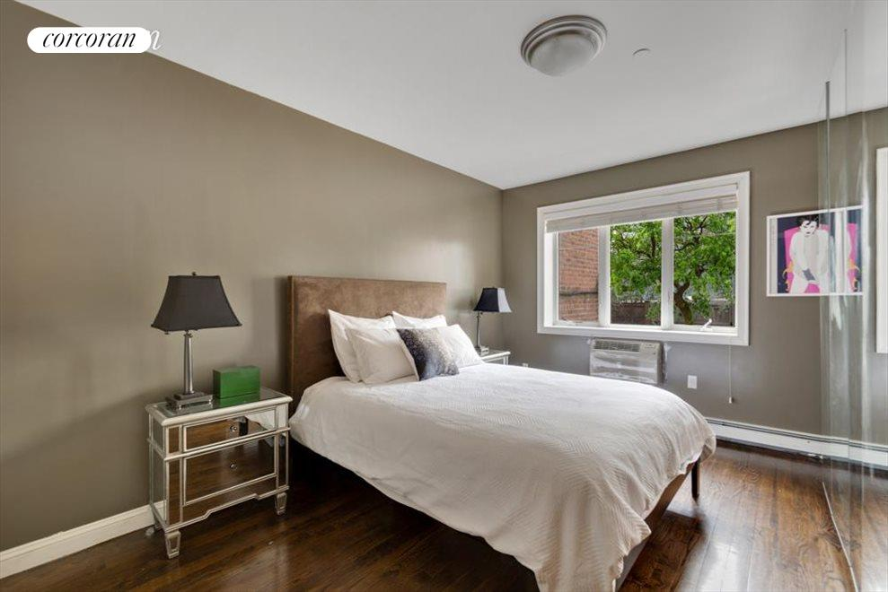Large Master suite with pretty view