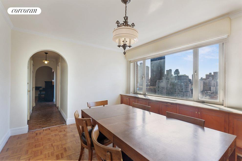 New York City Real Estate | View 180 East End Avenue, #PHG | Dining Room