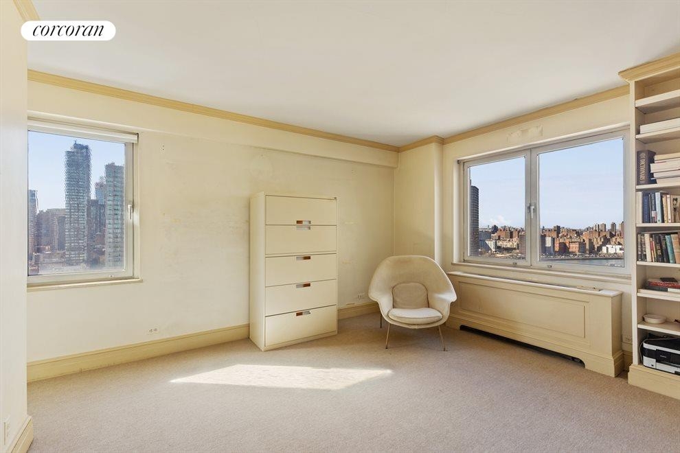 New York City Real Estate | View 180 East End Avenue, #PHG | Corner Bedroom