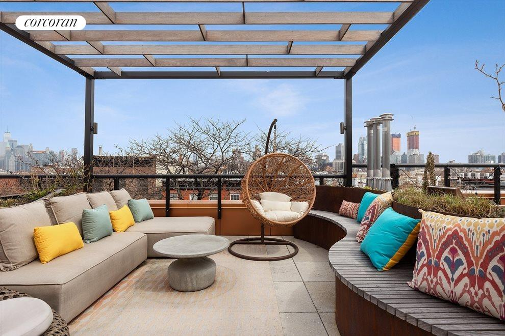 Incredible Roofdeck with Manhattan Views