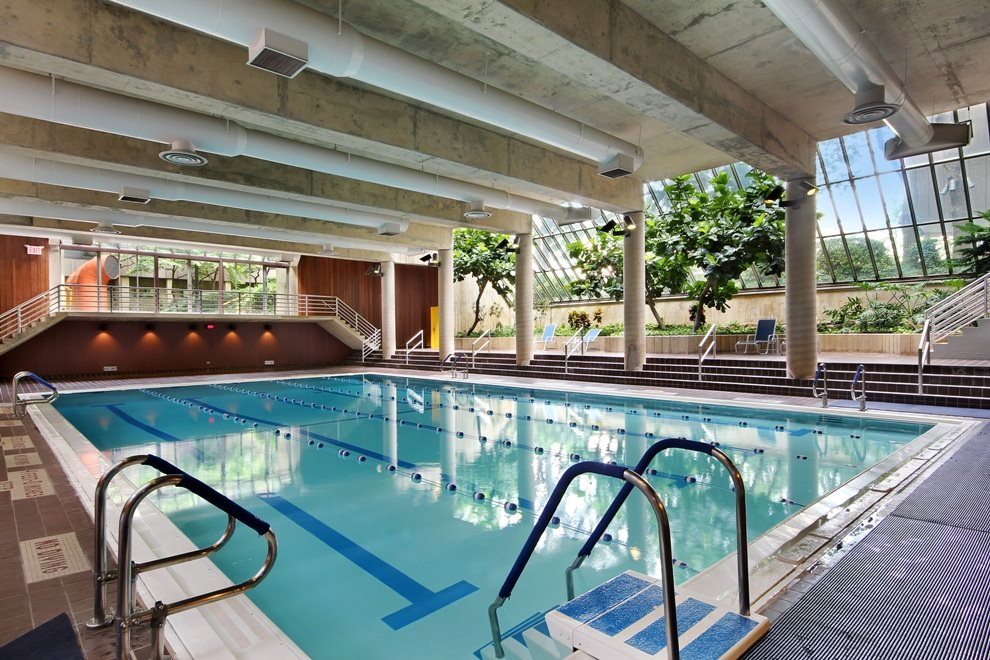 Fabulous 60' x 30' indoor Pool with Saunas