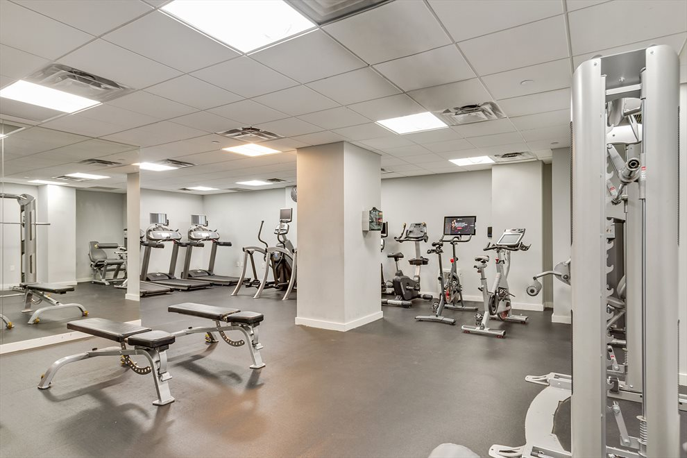 Recently Renovated 24-Hour Gym