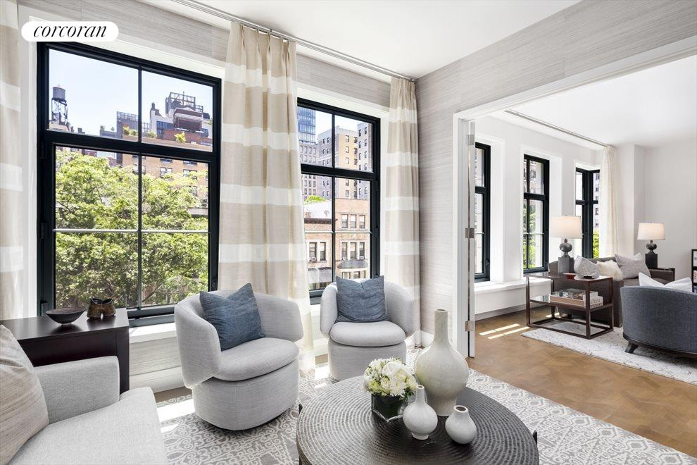 New York City Real Estate | View 207 West 79th Street, #5A | wall of windows