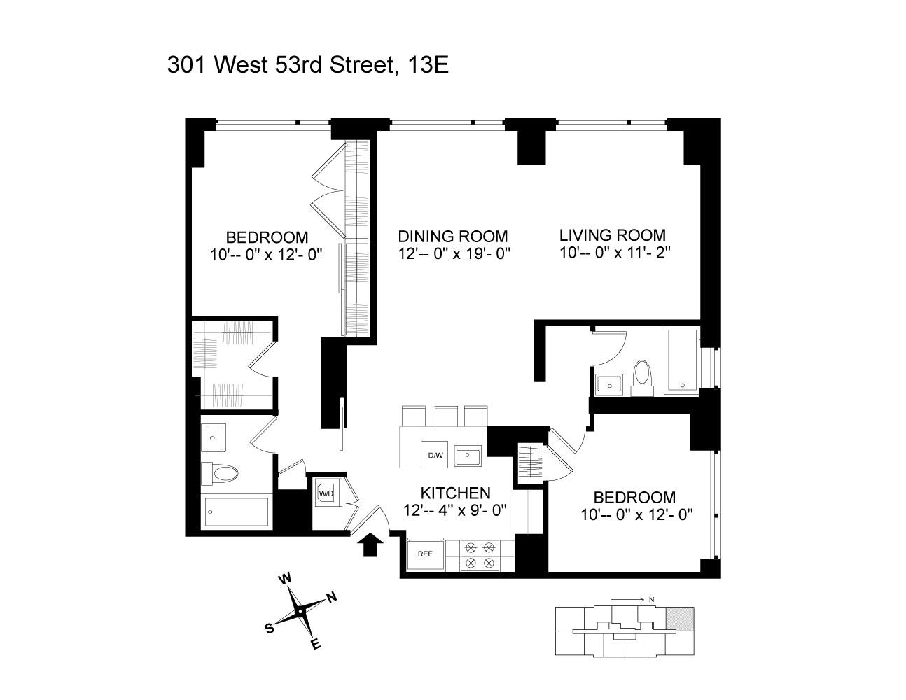 301 West 53rd Street Clinton New York NY 10019