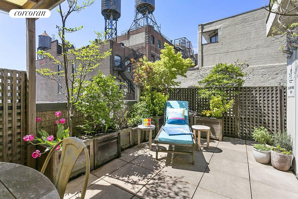 New York City Real Estate | View 44 East 12th Street, #PHC | Planted and Irrigated Terrace
