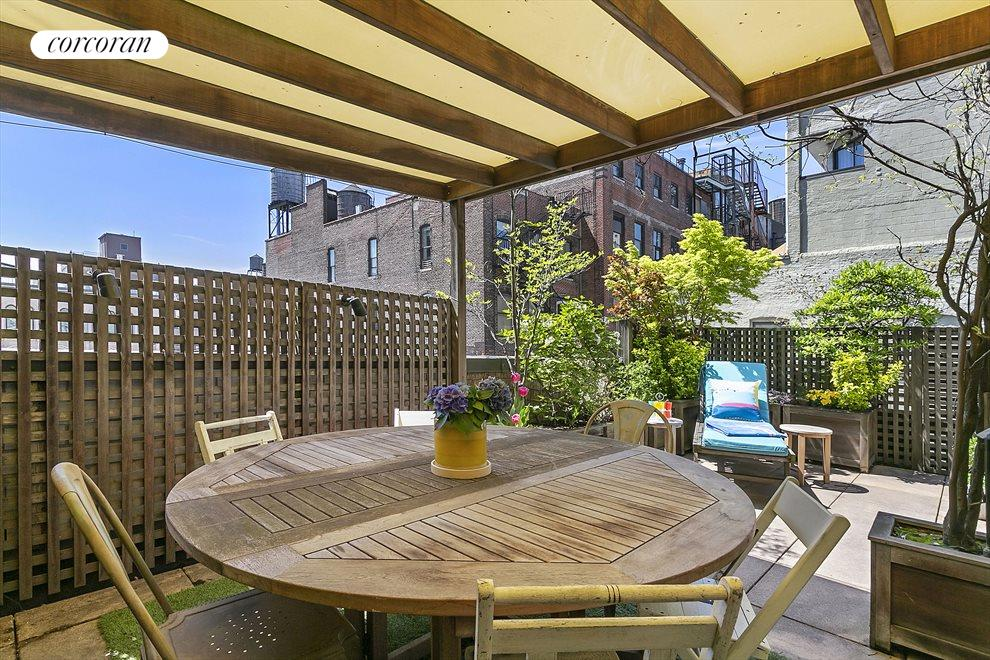 New York City Real Estate | View 44 East 12th Street, #PHC | Al Fresco Outdoor Dining