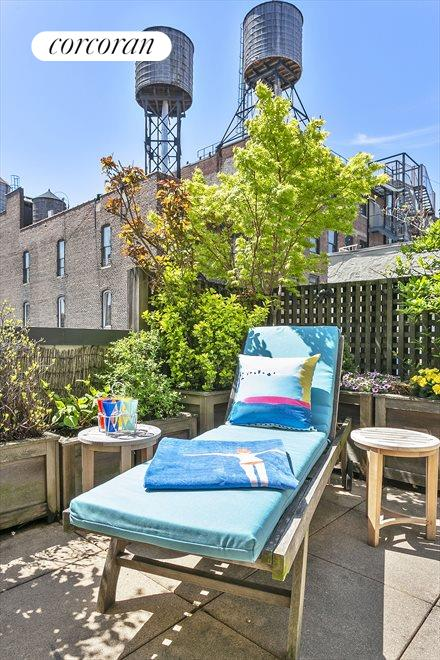 New York City Real Estate | View 44 East 12th Street, #PHC | Sunny South Facing Terrace