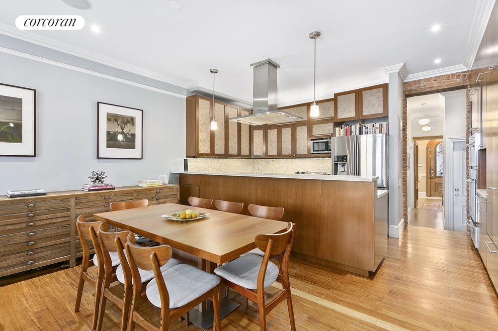 Open plan living/dining/kitchen