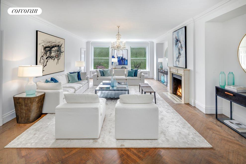 New York City Real Estate | View 1040 Fifth Avenue, #5/6C | 4 Beds, 4.5 Baths