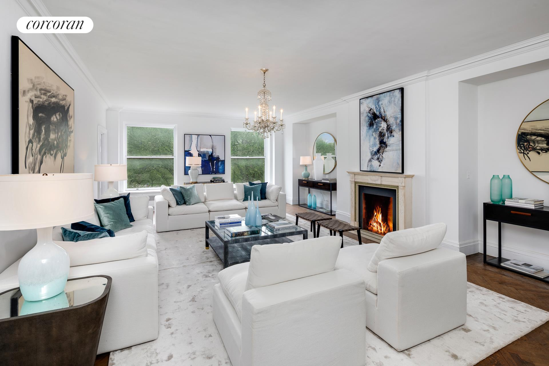 1040 Fifth Avenue, 5/6C, Living Room