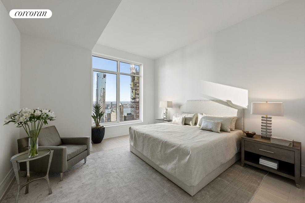 New York City Real Estate | View 30 PARK PLACE, #51E | Master Bedroom