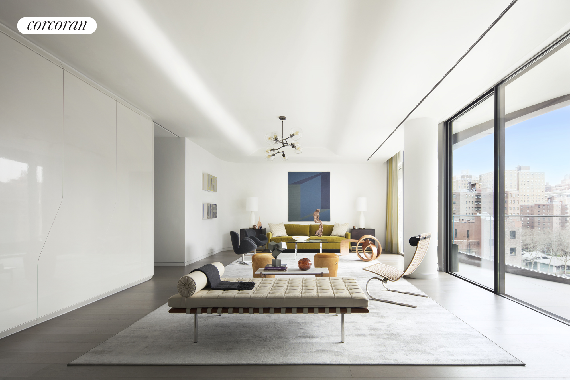 520 West 28th Street, 27, Living Room