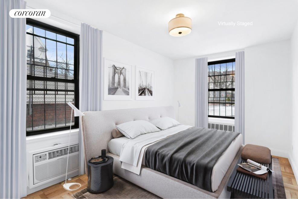New York City Real Estate | View 415 Beverley Road, #1G | Bedroom 2