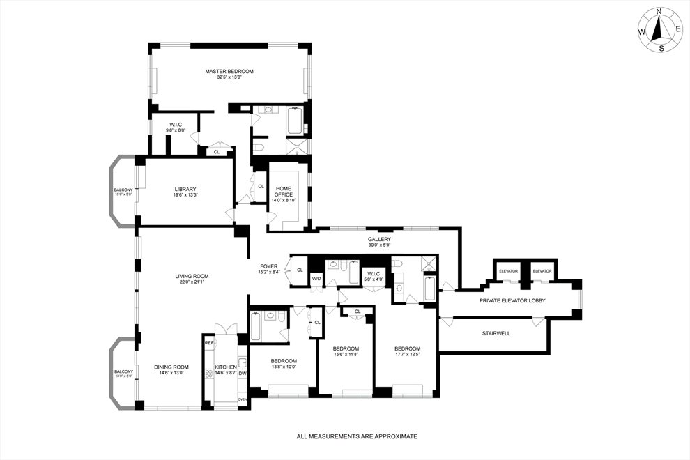 New York City Real Estate | View East 80th Street | Floorplan
