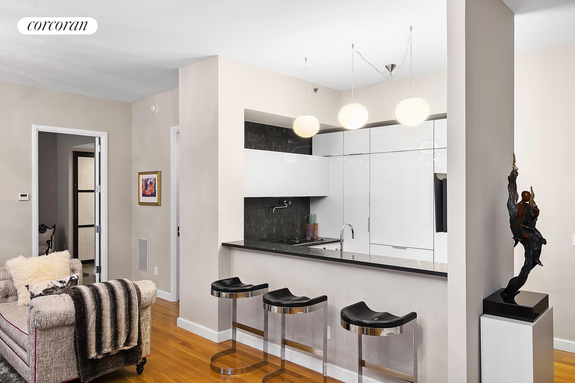 240 Park Ave South, 5C, Wide and spacious with high ceilings & wood floors