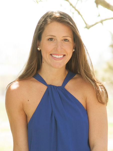 Ashley J Farrell, a top realtor in The Hamptons for Corcoran, a real estate firm in Westhampton Beach.