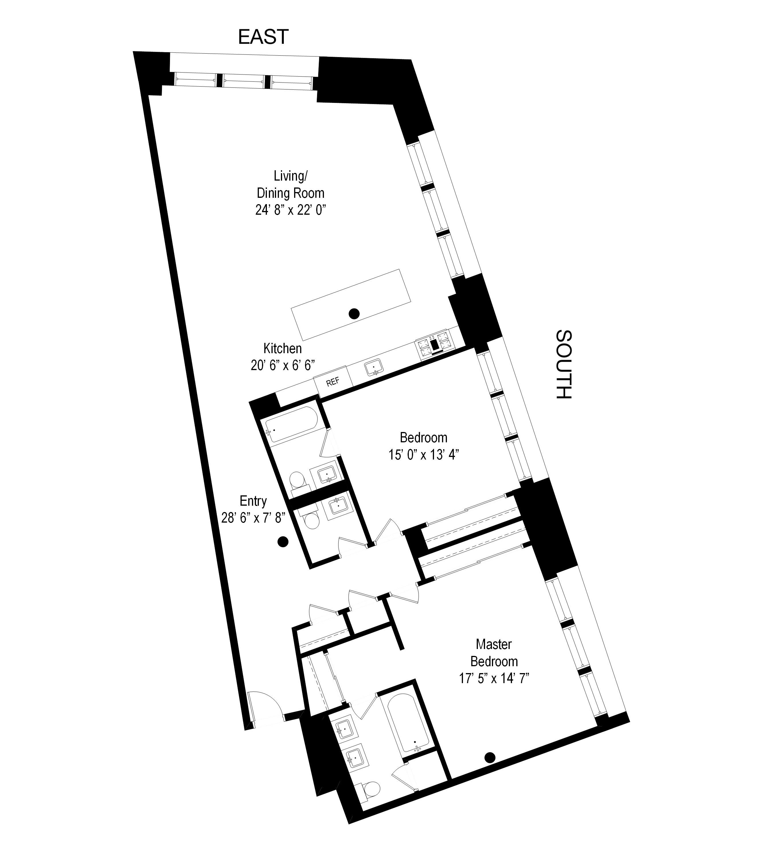 Corcoran, 21 ASTOR PLACE, Apt. 6D, Greenwich Village