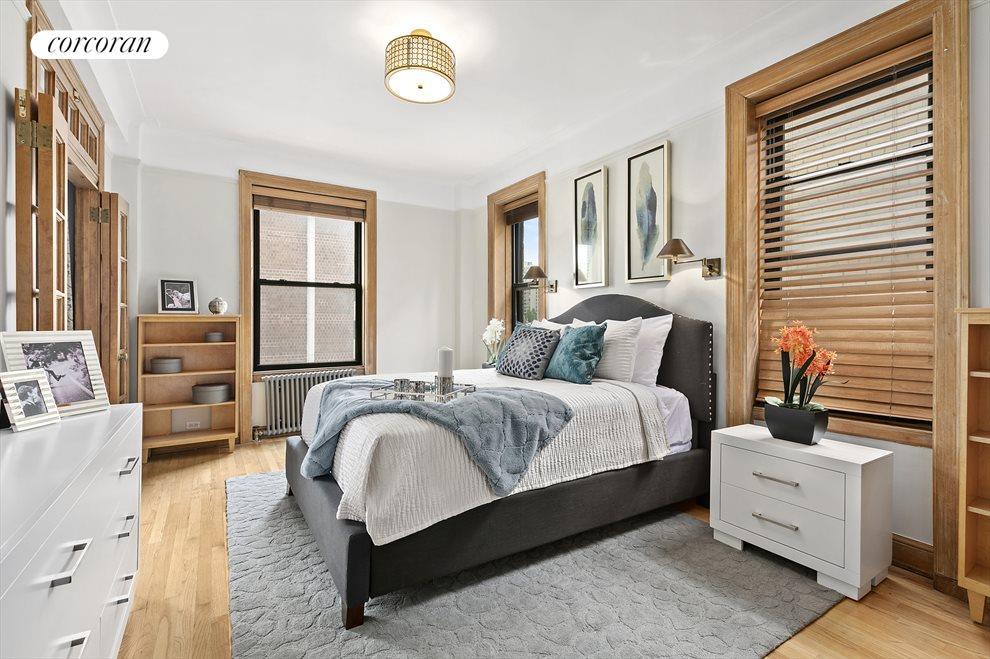 Corner Bedroom with Views Over 87 Street & East