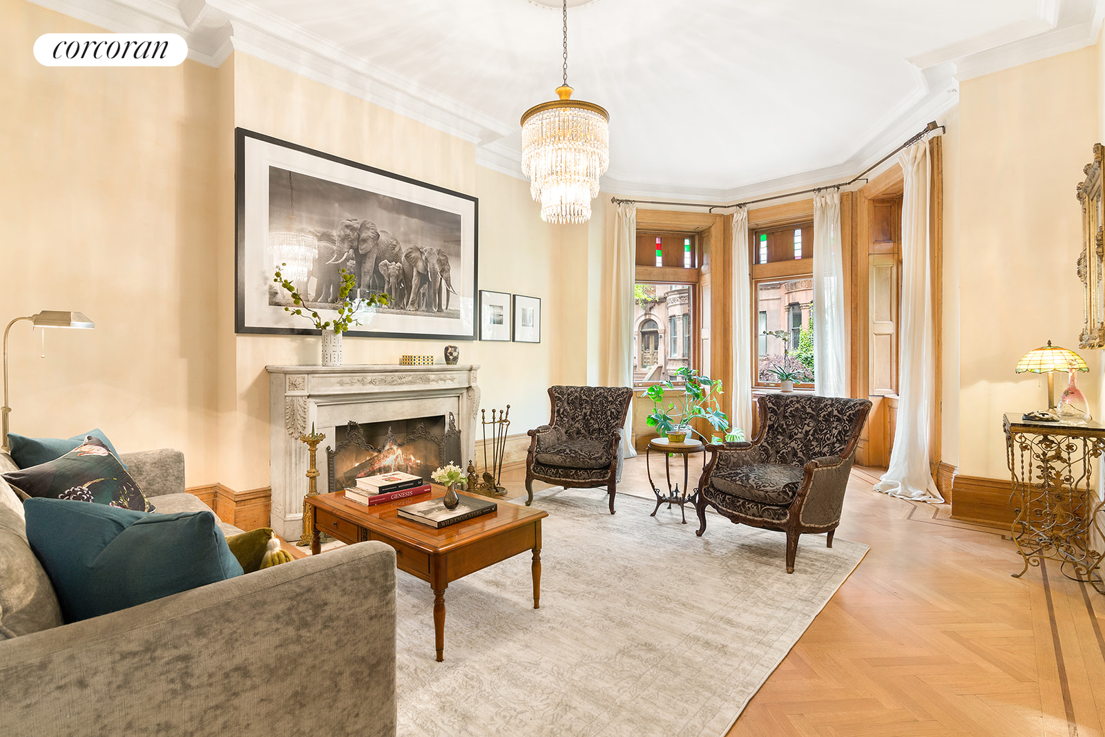 60 Montgomery Place, Bright and Airy Family Room