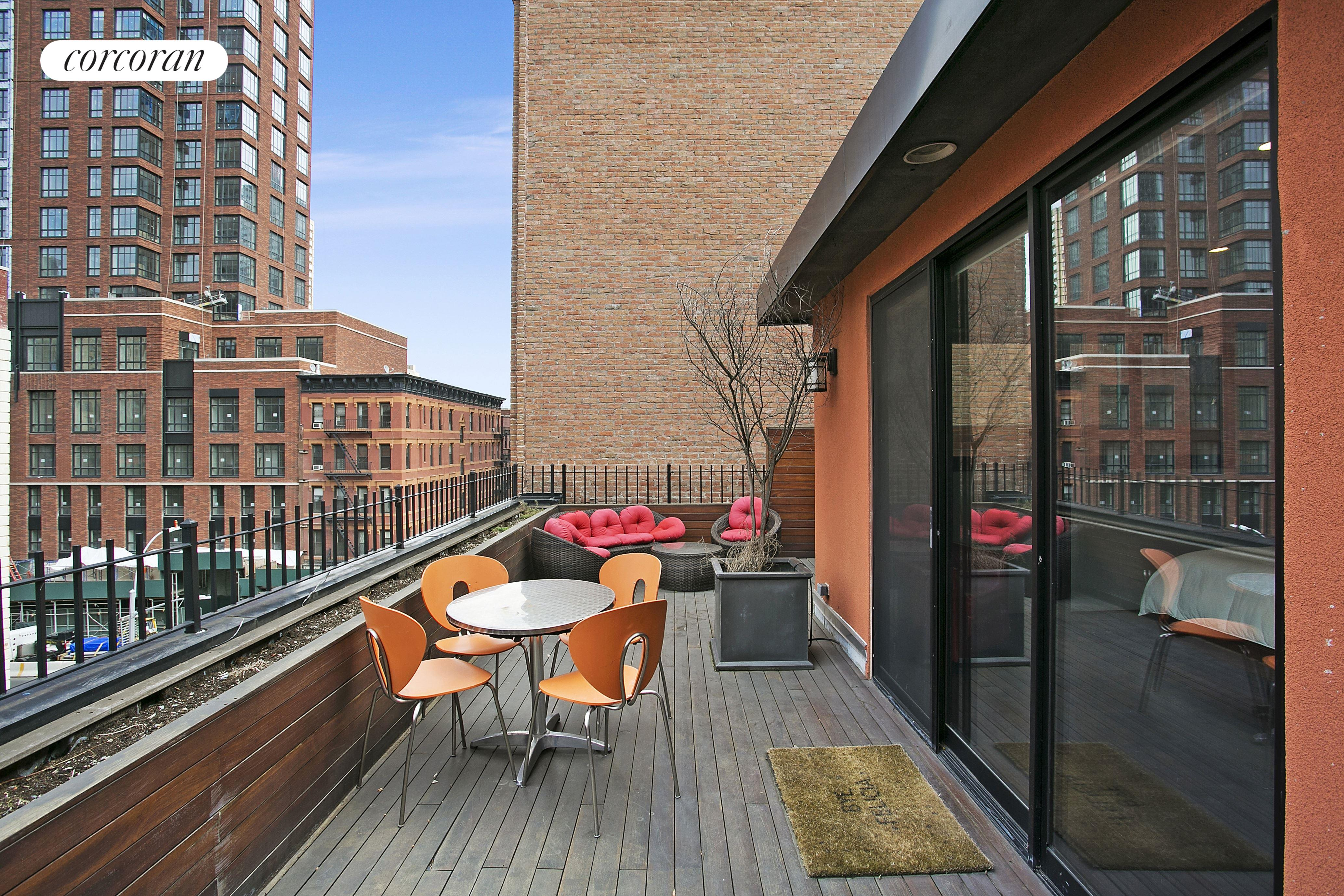 180 East 94th Street, Private Terrace