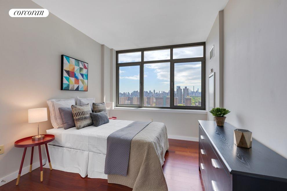 Guest room with view of Central Park
